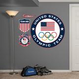Team USA Logo Wall Decal Sticker Wall Decal
