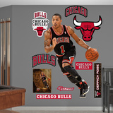 Chigaco Bulls Derrick Rose - Away Wall Decal Sticker Wall Decal