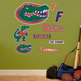 NCAA Florida Gators. Team Logo Assortment Wall Decal Sticker Wall Decal