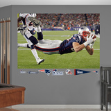 NFL New England Patriots Rob Gronkowski Diving TD Mural Decal Sticker Wall Decal