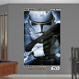 Star Wars Stormtrooper Closeup Mural Decal Sticker Wall Decal