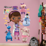 Doc McStuffins Collection Wall Decal Sticker Wallstickers