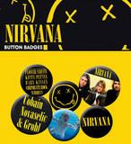 Nirvana Band Badge Pack Badge