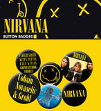 Nirvana Band Badge Pack Badge