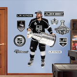 NHL Los Angeles Kings Drew Doughty Stanley Cup Wall Decal Sticker Wall Decal