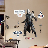 Connor Battle Ready Jr Wall Decal Sticker Wall Decal