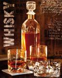 Whisky Metallic-Druck