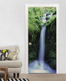 Zaragoza Falls Door Wallpaper Mural Behangposter
