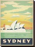 Sydney, Australien Leinwand von  Anderson Design Group