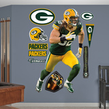 NFL Green Bay Packers Clay Matthews Nike Wall Decal Sticker Wall Decal