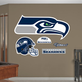 Seattle Seahawks 2012 Logo Wall Decal Sticker Wall Decal