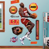 Houston Rockets Clyde Drexler Rockets Wall Decal Sticker Wall Decal