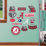 NCAA Alabama Jr. Logosheet Wall Decal Sticker Wall Decal