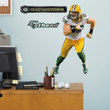 Green Bay Packers Clay Matthews Junior Wall Decal Sticker Wall Decal
