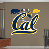NCAA Cal Golden Bears 2013 Logo Wall Decal Sticker Wallstickers