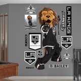 Los Angeles Kings Bailey Mascot Wall Decal Sticker Wall Decal