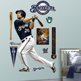 Milwaukee Brewers Jonathan Lucroy Wall Decal Sticker Wall Decal