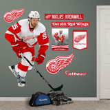 NHL Detroit Red Wings Niklas Kronwall Wall Decal Sticker Wallstickers
