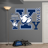 NCAA Yale Bulldogs Logo Wall Decal Sticker Wallstickers