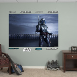 Star Wars Jango Fett Clone Arm Illustrated Mural Decal Sticker Wall Mural