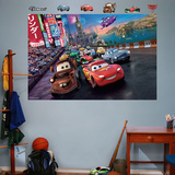 Cars2 Parade Mural Decal Sticker Malowidło ścienne