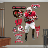 NCAA Montee Ball Wisconsin Badgers Wall Decal Sticker Wall Decal