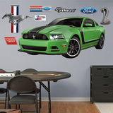 Ford Muscle Mustang Boss Wall Decal Sticker Wall Decal