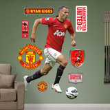 Manchester United Ryan Giggs Wall Decal Sticker Wall Decal