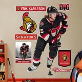 NHL Ottawa Senators Erik Karlsson Wall Decal Sticker Wallstickers