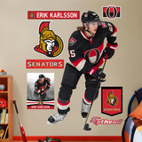 NHL Ottawa Senators Erik Karlsson Wall Decal Sticker Wall Decal