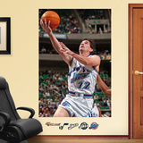 Utah Jazz John Stockton Mural Decal Sticker Wall Decal