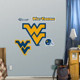 NCAA West Virginia Fathead Jr Wall Decal Sticker Wall Decal