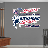 NCAA Richmond Spiders Logo Wall Decal Sticker Wall Decal