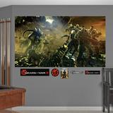 Gears Of War 3 - Battaglia (sticker murale) Adesivo murale