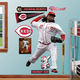 Cincinnati Reds Johnny Cueto Wall Decal Sticker Wall Decal