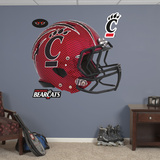 Cincinnati Bearcats Carbon Fiber Helmet Wall Decal Sticker Wallstickers