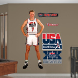 USA Basketball Larry Bird 1992 Dream Team Wall Decal Sticker Wall Decal