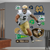 NCAA Manti Te'o Notre Dame Fighting Irish Wall Decal Sticker Wall Decal