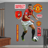 Manchester United Robin Van Persie Wall Decal Sticker Wall Decal
