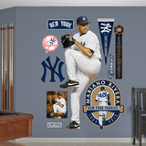New York Yankees Mariano Rivera Wall Decal Sticker Wall Decal
