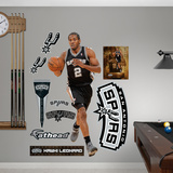 San Antonio Spurs NBA Kawhi Leonard 2012-13 Wall Decal Sticker Wall Decal
