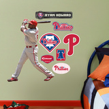 Philadelphia Phillies Ryan Howard Junior Wall Decal Sticker Wall Decal