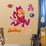 NCAA Arizona State Sun Devils Logo Wall Decal Sticker Wall Decal