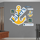 NCAA Lake Superior State Lakers Logo Wall Decal Sticker Wall Decal