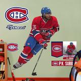 NHL Montreal Canadiens P.K. Subban Wall Decal Sticker Muursticker