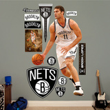 Brooklyn Nets Brook Lopez Wall Decal Sticker Wall Decal