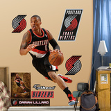 Portland Trailblazers Damian Lillard Wall Decal Sticker Wall Decal