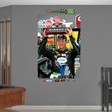 Nascar Dale Earnhardt Jr. QL 400 Trophy Mural Decal Sticker Wall Decal