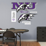 NCAA Niagara Purple Eagles Logo Wall Decal Sticker Wall Decal
