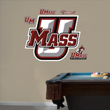 NCAA UMass Minutemen Wall Decal Sticker Wall Decal
